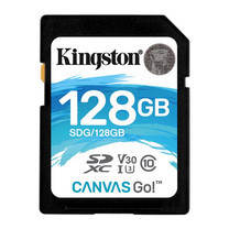 Kingston Canvas Go! SDHC Memory Card 128GB