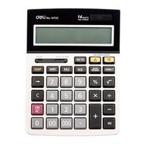 Deli Calculator เครื่องคิดเลขตั้งโต๊ะ No.1672C