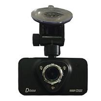 Dcam กล้องติดรถยนต์ D2 สีดำ