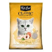 Kit Cat ทรายแมว สูตร White Peach ขนาด 10 ลิตร