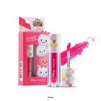 Cathy Doll Disney Tsum Tsum 2in1 Lip & Cheek Chiffon Tint 2.4 ก. #03 Wonder Pink