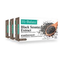 Hi-Balanz สารสกัดจากงาดำ 30 แคปซูล แพ็ก 3 กล่อง