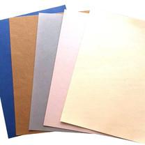 GROS กระดาษสี A4 160 แกรม คละสี (แพ็ก 10 แผ่น)