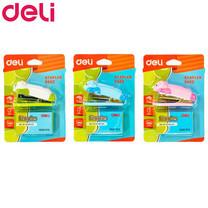 Deli 0452 ชุดเครื่องเย็บกระดาษมินิ+ลวดเย็บเบอร์ 10 (คละสี 1 แพ็ก)