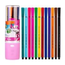 Deli C150 ชุดปากกาเมจิก สีเมจิก 12 สี (กระปุกคละสี)