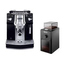 De'Longhi เครื่องชงกาแฟ ชุด Set เครื่องชงกาแฟเอสเพรสโซ EC820.B + เครื่องบดเมล็ดกาแฟ KG79