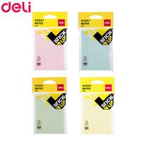 Deli A01402 กระดาษโน๊ต 3 x 4 นิ้ว 100 แผ่น (คละสี 1 แพ็ก)