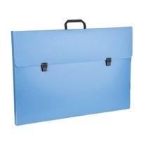 Flamingo กระเป๋าพลาสติก A2 ฟลามิงโก้ 946 สีน้ำเงิน