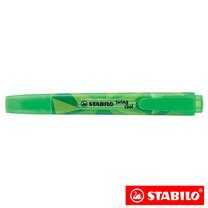 STABILO Swing Cool Colormatrix ปากกาเน้นข้อความ สีนีออน Green