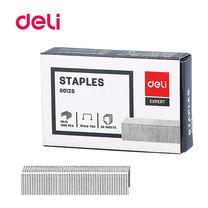 Deli 0012S Staples ลวดเย็บกระดาษ 30 แผ่น เบอร์ 26/6 เย็บได้ 1,000 ครั้ง