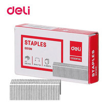 Deli 0010N Staples ลวดเย็บกระดาษ 25 แผ่น เบอร์ 10 เย็บได้ 1,000 ครั้ง