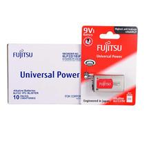 Fujitsu ถ่านอัลคาไลน์ Universal รุ่น 6LF22(B)FU Size 9V. กล่อง 1x10