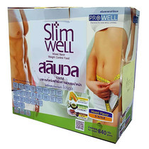 Slimwell Dietary Supplement Product Mix flavour 14 ซอง/กล่อง จำนวน 840 ก.