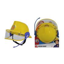 Firemam Sam Plastic Helmet W Microphone