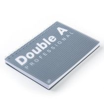 Double A สมุดบันทึกสันห่วง Professional B5 สีเทา