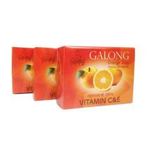 Galong Orange Vitamin C E Soap (Pack 3)