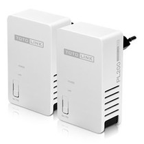 TOTOLINK PL200 KIT 200Mbps Powerline Adapter Twins package