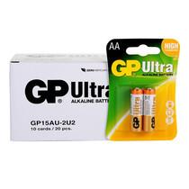GP Ultra ถ่านอัลคาไลน์ AA (1กล่อง/10แพ็ก/20ก้อน)