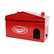 HANABISHI ตู้รับจดหมาย LT-02 สีแดง