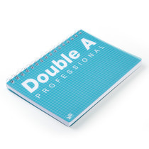 Double A สมุดบันทึกสันห่วง Professional B5 สีเขียว