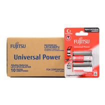 Fujitsu ถ่านอัลคาไลน์ Universal รุ่น LR14(2B)FU Size C กล่อง 2x10