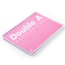 Double A สมุดบันทึกสันห่วง Professional B5 สีชมพู