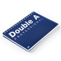 Double A สมุดบันทึกสันห่วง Professional A5 น้ำเงิน