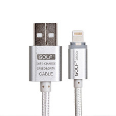Golf Lightning Metal USB Cable