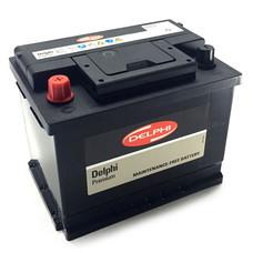 DELPHI แบตเตอรี่ สีดำ รุ่น DIN65R-SMF