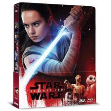 Blu-ray 3D Star Wars The Last Jedi ปัจฉิมบทแห่งเจได (3D+Blu-ray+Steelbook)