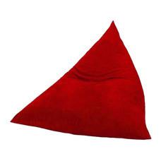 Your Style BeanBag สามเหลี่ยมผ้ากำมะหยี่ แดง
