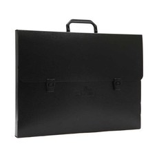 Flamingo กระเป๋าพลาสติก A3 ฟลามิงโก้ 946 สีดำ