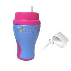 BABITO ถ้วยหัดดื่ม นอนสปิล สำหรับดูดหลอด STEP 2