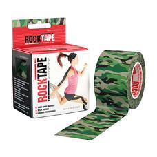 ROCKTAPE เทปพยุงกล้ามเนื้อ รุ่นมาตรฐาน ลายทหาร สีเขียว ขนาดกว้าง 5 ซม. ยาว 5 ม.
