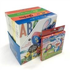 Boxset บัตรคำศัพท์ประกอบภาพ ชุด เริ่มเรียนคำศัพท์ 2 ภาษา แถมสีเทียน