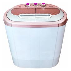 SONAR เครื่องซักผ้ามินิ แบบ 2 ถัง EW-S260 Pink