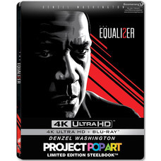 Blu-ray (4K) The Equalizer 2 มัจจุราชไร้เงา 2 [4K Ultra HD+Blu-ray+Steelbook]