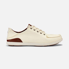 Olukai รองเท้าผู้ชาย 10331-1833 M-MANOAOFF WHITE/TOFFEE 12 US