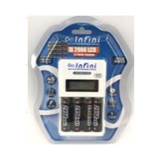 Infini แท่นชาร์จ + ถ่านชาร์จ รุ่น IX2900 + AA2950 Pro แพ็ก 4