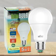 Bio Bulb LED S-Series ขั้ว E27-5 วัตต์ แสงวอร์มไวท์