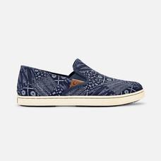 Olukai รองเท้าผู้หญิง 20360-DEXP W-PEHUEA PA'I TRENCHBLUE/PATCH 6.5 US