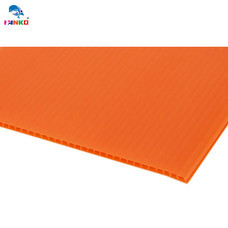 PANKO แผ่นฟิวเจอร์บอร์ด 65 x 80 ซม. หนา 3 มม. สีส้ม