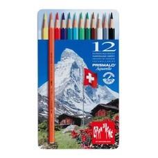 Caran D'Ache ดินสอสีระบายน้ำ Prismalo 12 สี