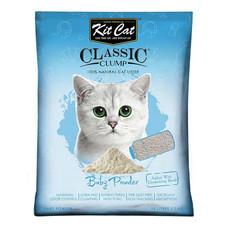 Kit Cat ทรายแมว สูตร Baby Powder ขนาด 10 ลิตร