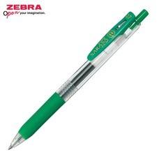 Zebra ปากกาหมึกเจล Sarasa Clip 0.7 มม. JJB15-G หมึกสีเขียว (12 ด้าม/กล่อง)