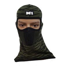 M1 หน้ากากมอเตอร์ไซค์ นักซิ่ง หมวกโม่ง พร้อมกรองฝุ่น รุ่น M2 ลายทหาร