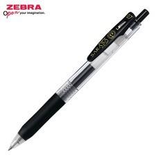 Zebra ปากกาหมึกเจล Sarasa Clip 0.7 มม. JJB15-BK หมึกสีดำ (12 ด้าม/กล่อง)