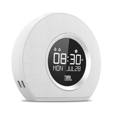 JBL Speaker Horizon Bluetooth Clock White