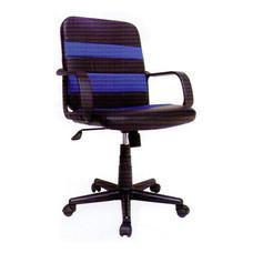 R-SIMPLE เก้าอี้สำนักงาน รุ่น AMSTER สีดำคาดฟ้า