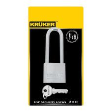 KRUKER กุญแจสปริงโครเมี่ยม 32 มม. (คอยาว)